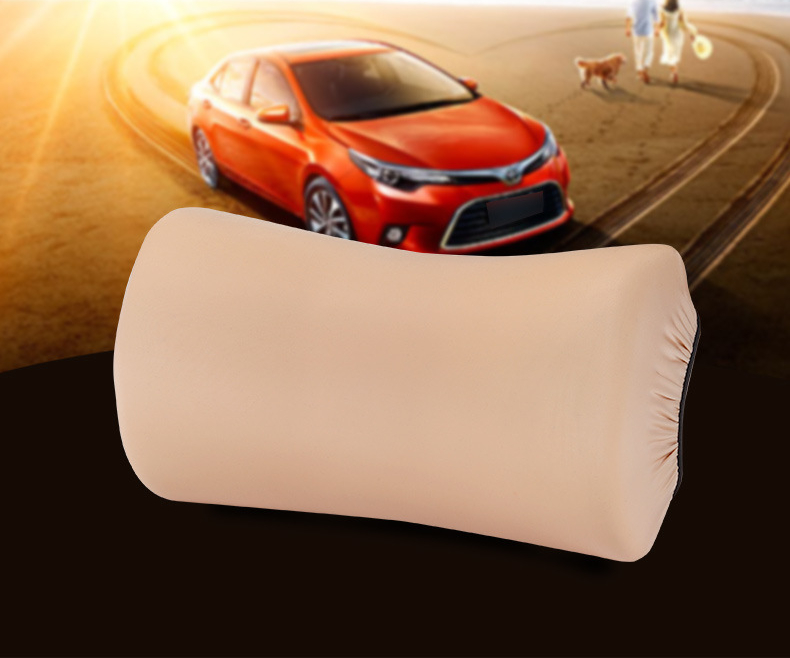 Seven Degree Space Memory Cotton Car Headrest Pillow Safety Cushion Neck Support Covers