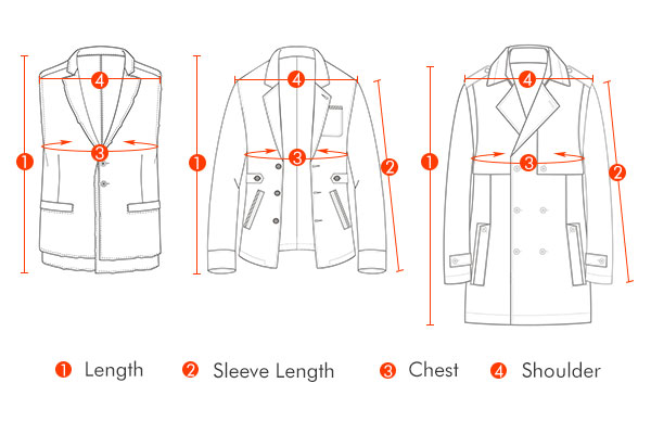 Stylish Slim Fit Mid Long Single-breasted Woolen Trench Coat