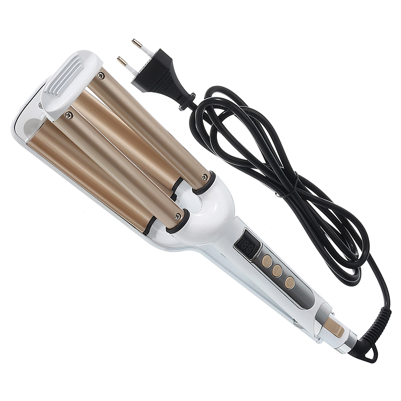 3 Barrels Automatic Hair Curler Ceramic Wave Perm Splint Curling Rollers Iron Tools LCD Curling