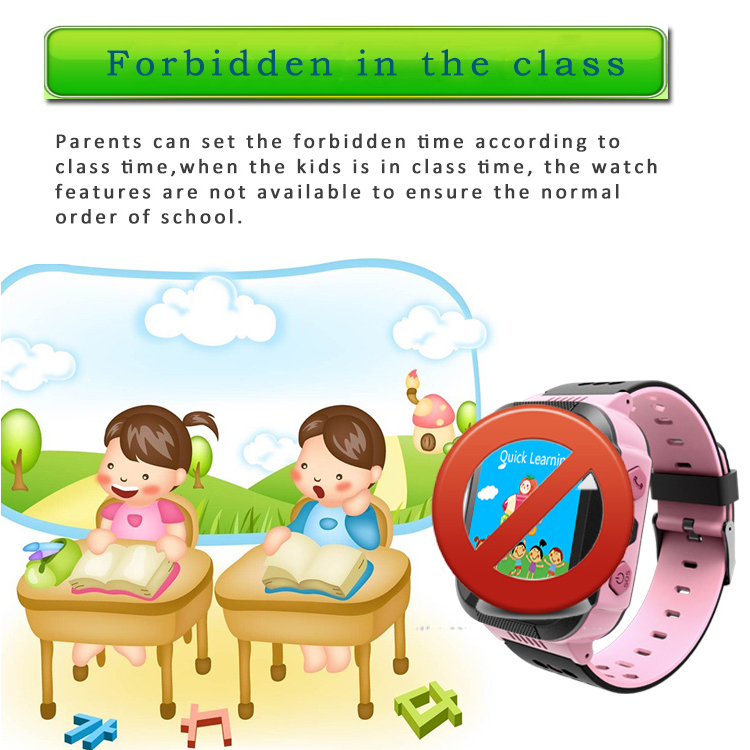 ENOCH Q528 Children Kid LBS SOS Call GPRS Location Device Tracker Flashlight Smart Watch