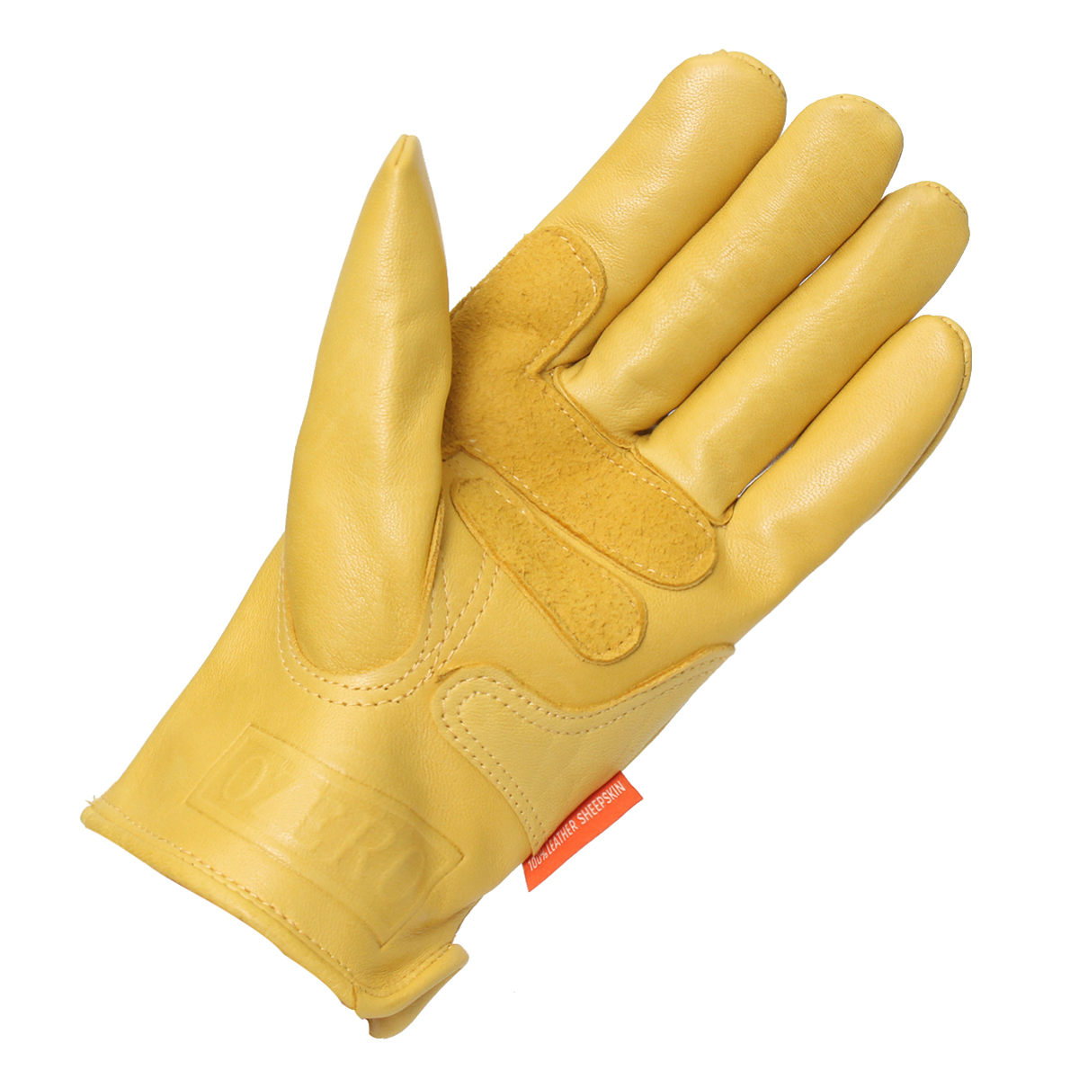 Motorcycle Leather Yellow Motorbike Winter Sport Racing Gloves S M L XL