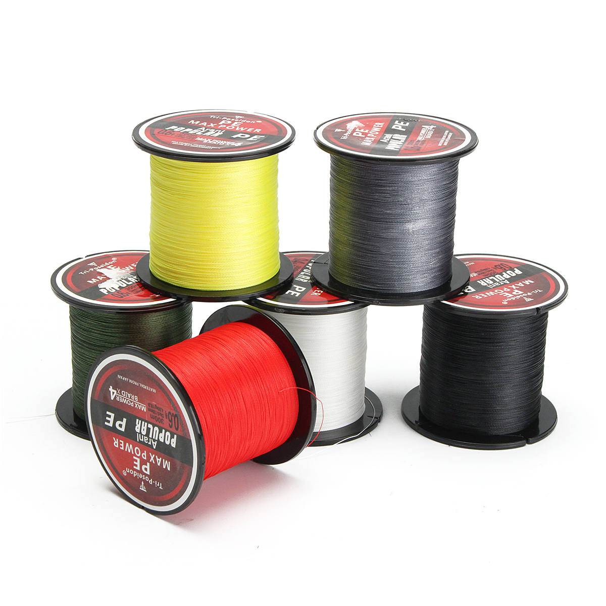 1 x fishing line. More Detailed Photos: 300M Super Strong 4 Strands PE Spectra Braided ...