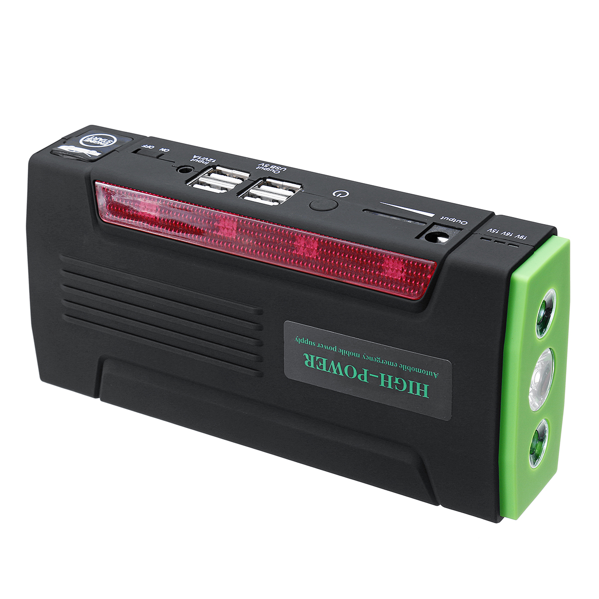 82800mAh 4 USB Car Jump Starter Pack Portable Charger Booster Power Bank Battery82800mAh 4 USB Car J