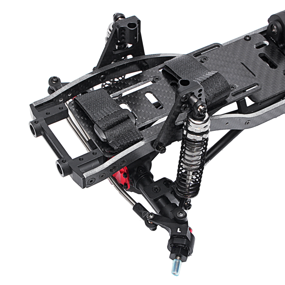 TFL T11 Crawler Frame Metal Chassis Set without Electronic Components for SCX10Ⅱ 90046 90047 Rc Car - Photo: 3