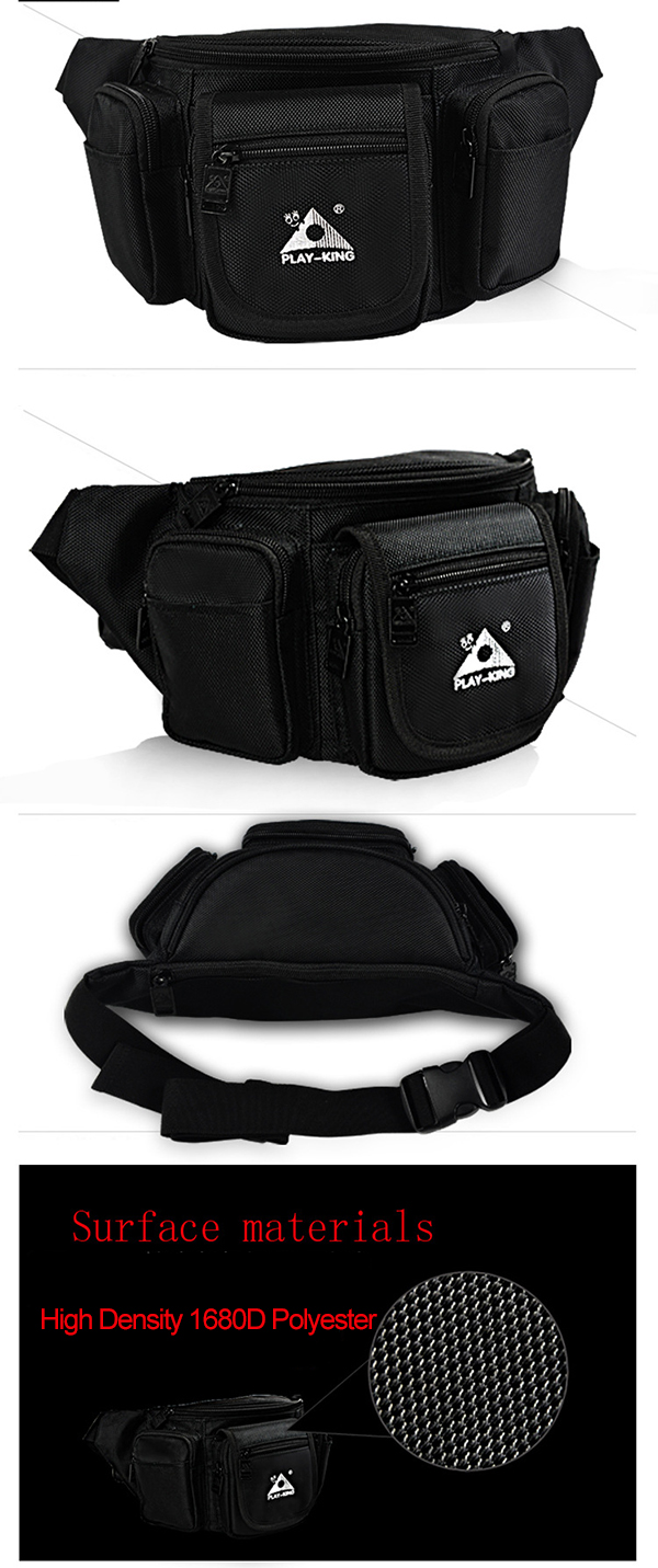 PLAY-KING Outdoor LED Lighting Riding Bag Male and Female Mountain Sports Bag Ventilation Equipment