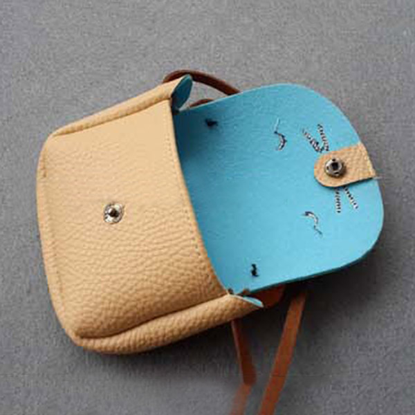 Children Girls PU Leather Handbag Cartoon Cat Crossbody Bag Kids Purses Bags