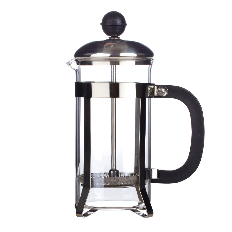 KCASA KC-COF36 350mL French Style Press Coffee Maker Coffee Press Pot Tea Tool Stainless Steel