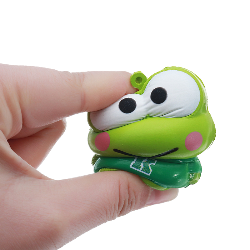 Meistoyland Squishy Frog Soft Cute Animal Gift Collection Squeeze Toy With Packaging
