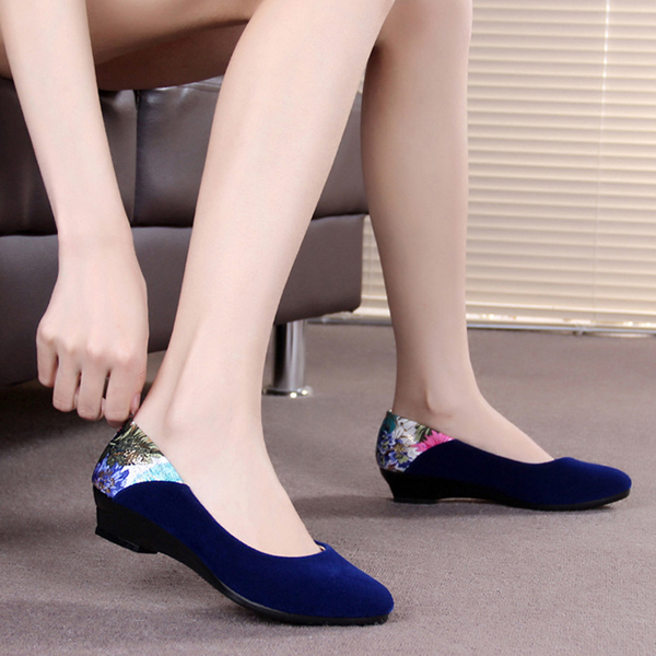 Casual Pointed Toe Slip On Lazy Loafers Flat Shoes