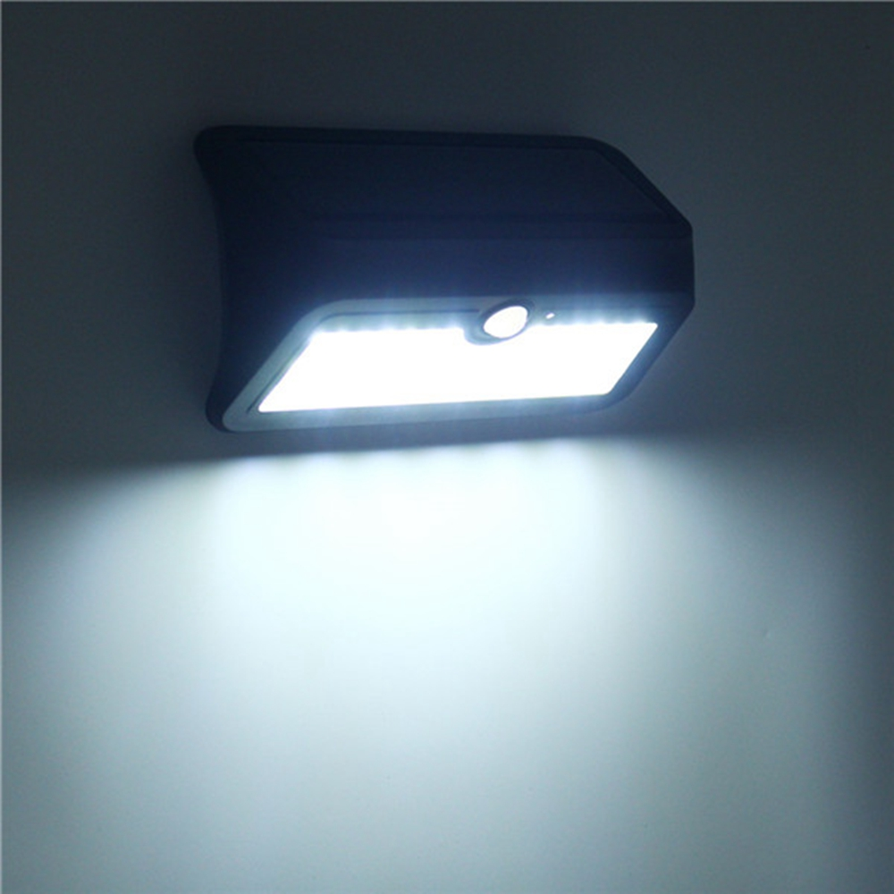 ARILUX® AL-SL 13 46 LED Solar Powered PIR Motion Sensor Wall Light Waterproof Security Outdoor Lamp