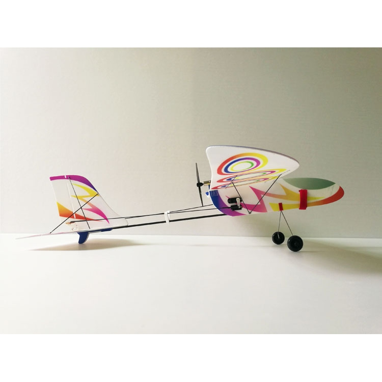 X510 PP 510mm Wingspan Glider Flexible RC Airplane RTF With Remote Control Transmitter