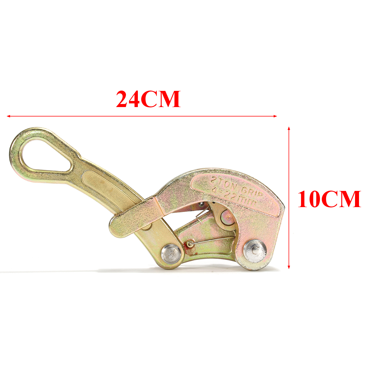 2T Wire Grip Steel Wire Cable Clamp Pulling Tightening Tool