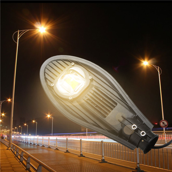 30W LED Warm White/White Road Street Flood Light Outdoor Walkway Garden Yard Lamp DC12V