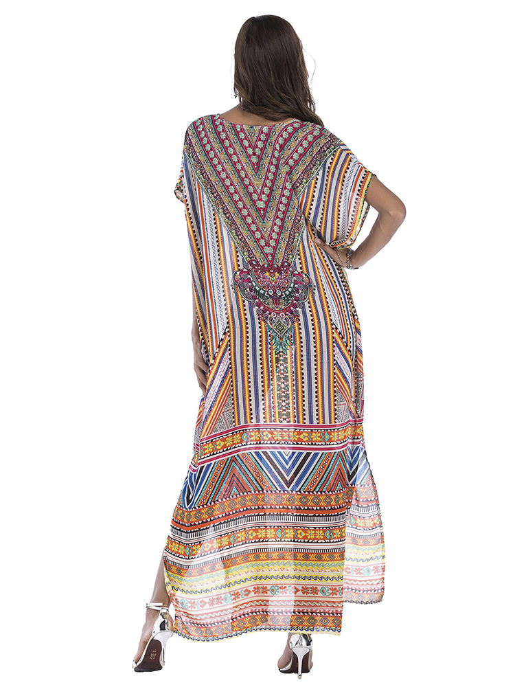 Printed Beach Party Dress