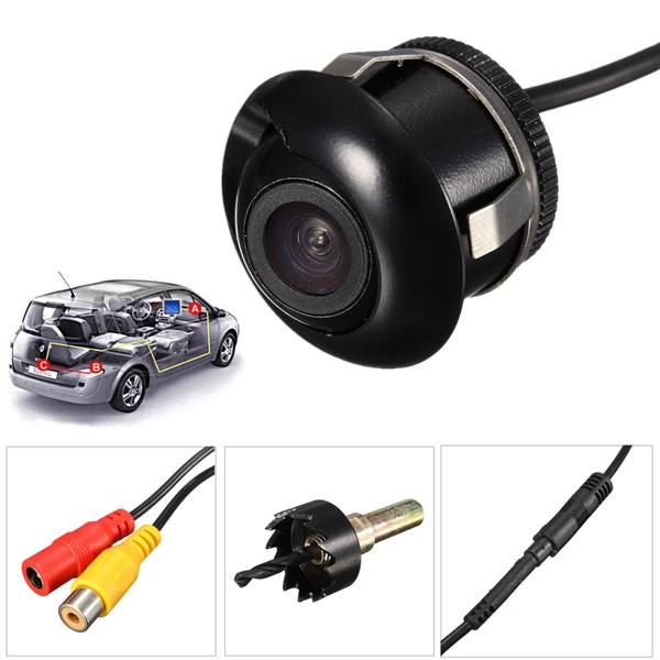 Car Rear Reverse Parking Camera Night Vision Waterproof 170 Degrees Wide Angle