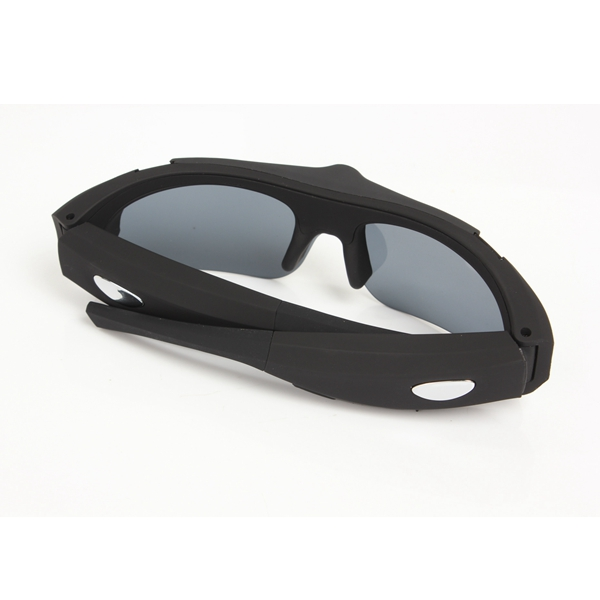 Motorcycle Racing Polarized Glasses Black Lens With High Resolution Video Function
