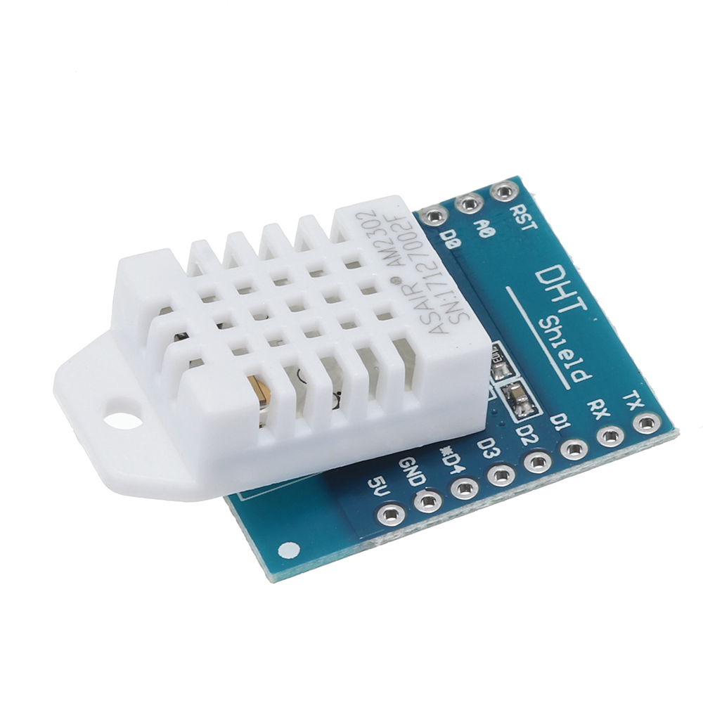 DHT22 Single Bus Digital Temperature Humidity Sensor Shield For D1 Mini