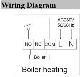 WiFi & RF Wireless Room Thermostat Wall-hung Gas Boiler Heating Remote Control Thermometer Weekly Programmable
