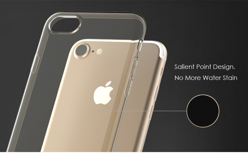 Remax Crystal Clear Shockproof Soft TPU Case For iPhone 7 Plus/8 Plus