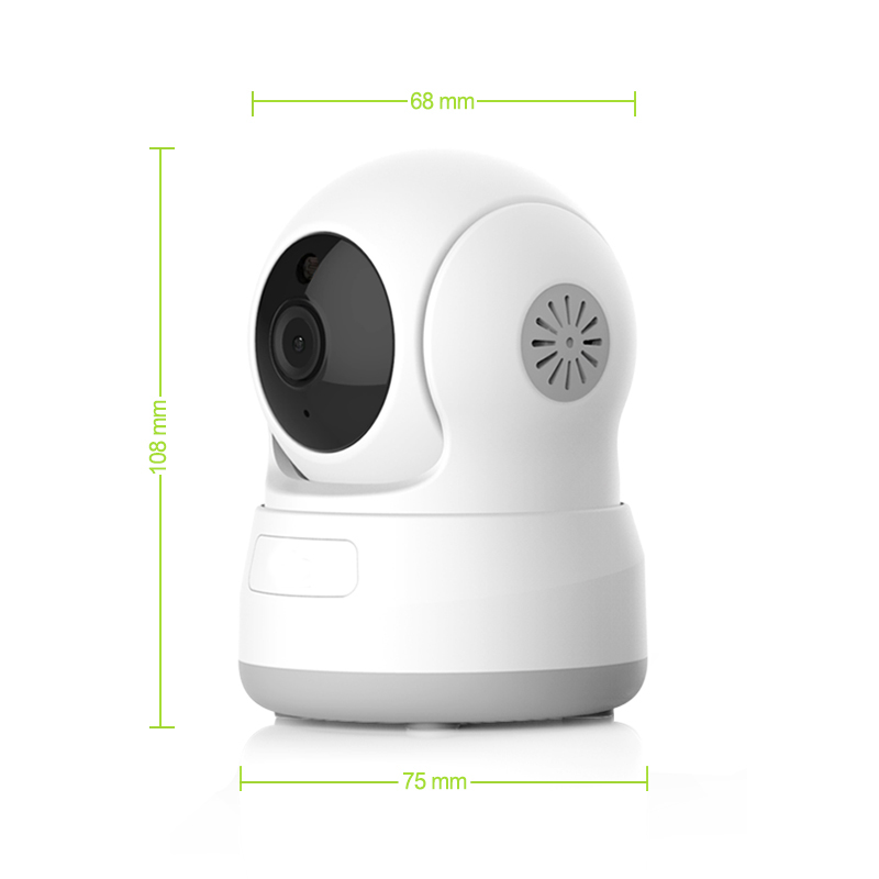 HD 720P Wifi Pan&Tilt IP Camera P2 PWireless Security Camera with Night Vision Micro SD Card with Night Vision Support Micro SD Card ONVIF