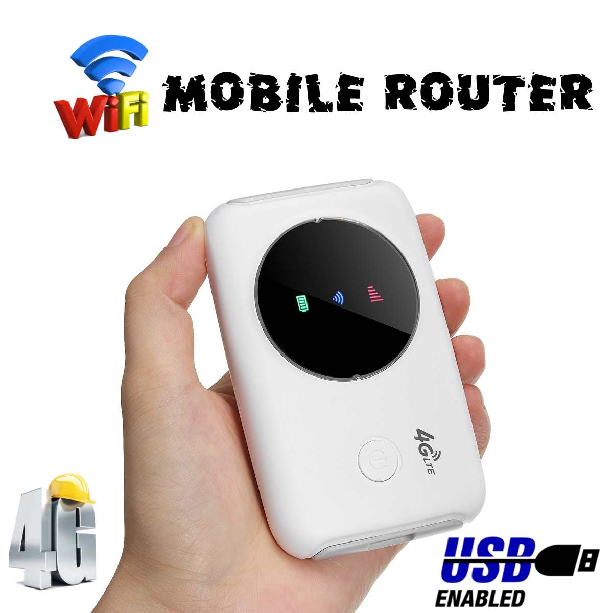 4G LTE Wireless Router Mobile Router Portable WiFi Hotspot