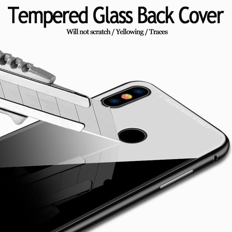 Bakeey 360° Magnetic Adsorption Flip Metal Tempered Glass Protective Case for Xiaomi Redmi Note 5