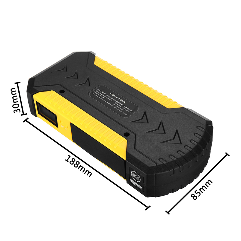 Portable 88000mAh Automobile Emergency Mobile Power Supply Car Jump Starter