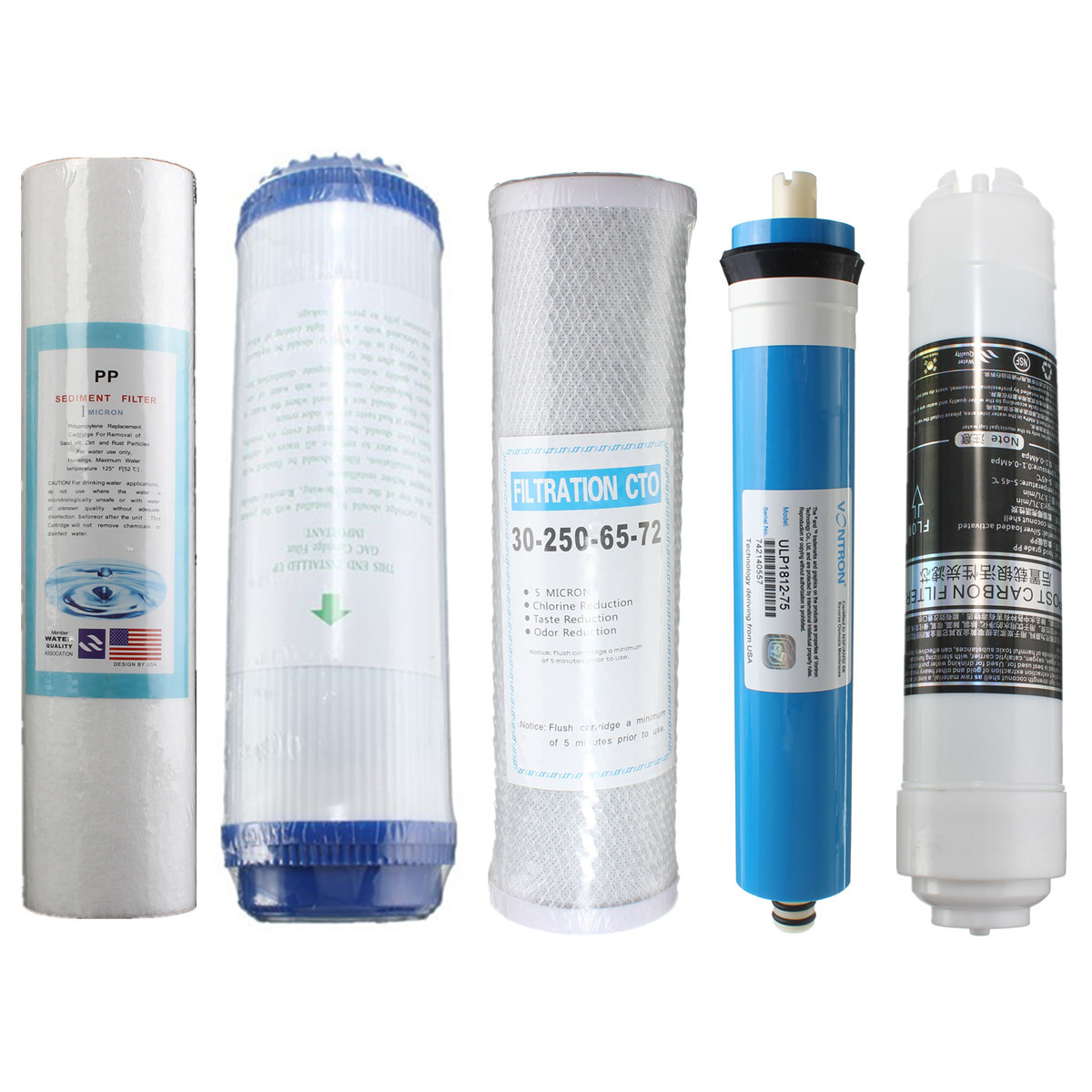 Outdoor Water Purifier Sediment Granular PP Filter Element Roll Cartridge Reverse Osmosis