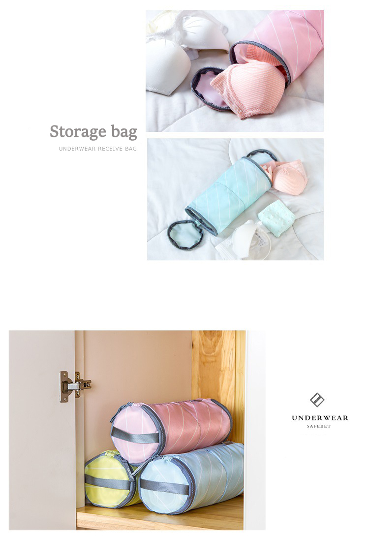 IPRee™ Cylinder Storage Bag Underwear Bra Sock Clothing Wash Package Portable Outdoor Travel
