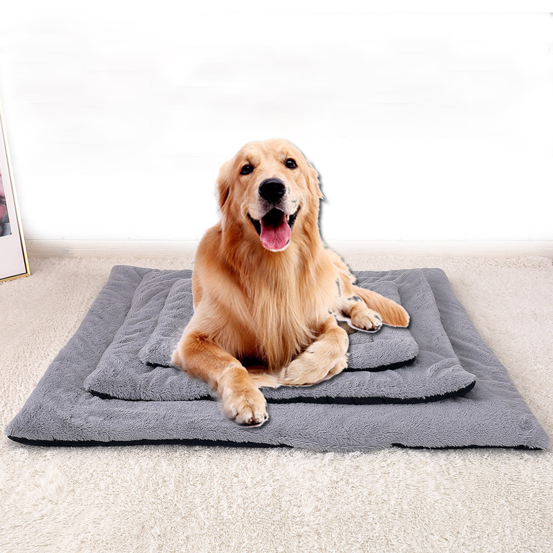 Double Sides Corduroy Short Plush Pet Mat Dog Cat Sleeping Pad Mat Pet Bed