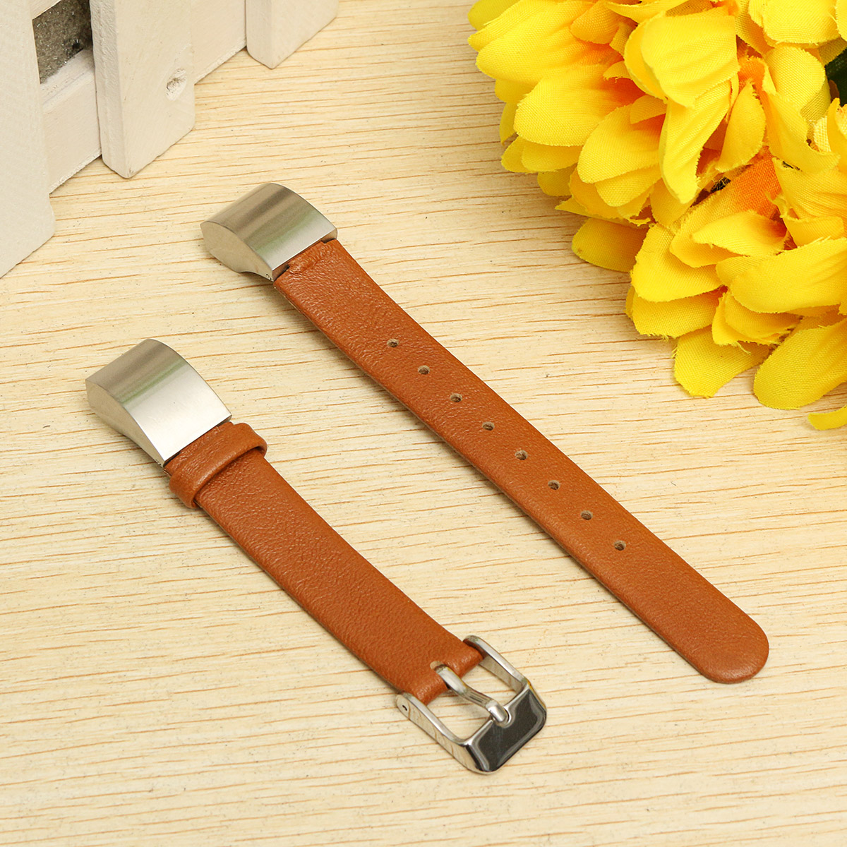 Replacement PU Leather Smart Watch Wrist Band Strap For Fitbit Alta