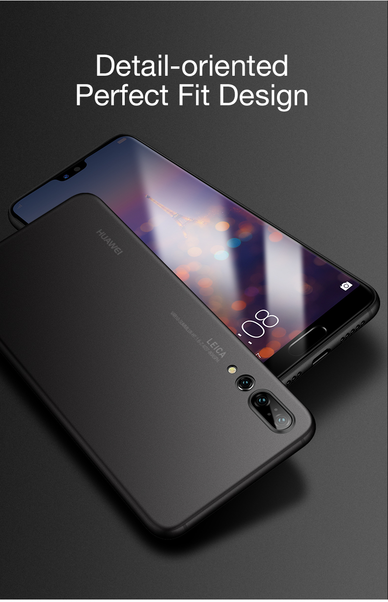 CAFELE Ultra-Thin Micro Matte Anti Fingerprint PP Protective Case For Huawei P20