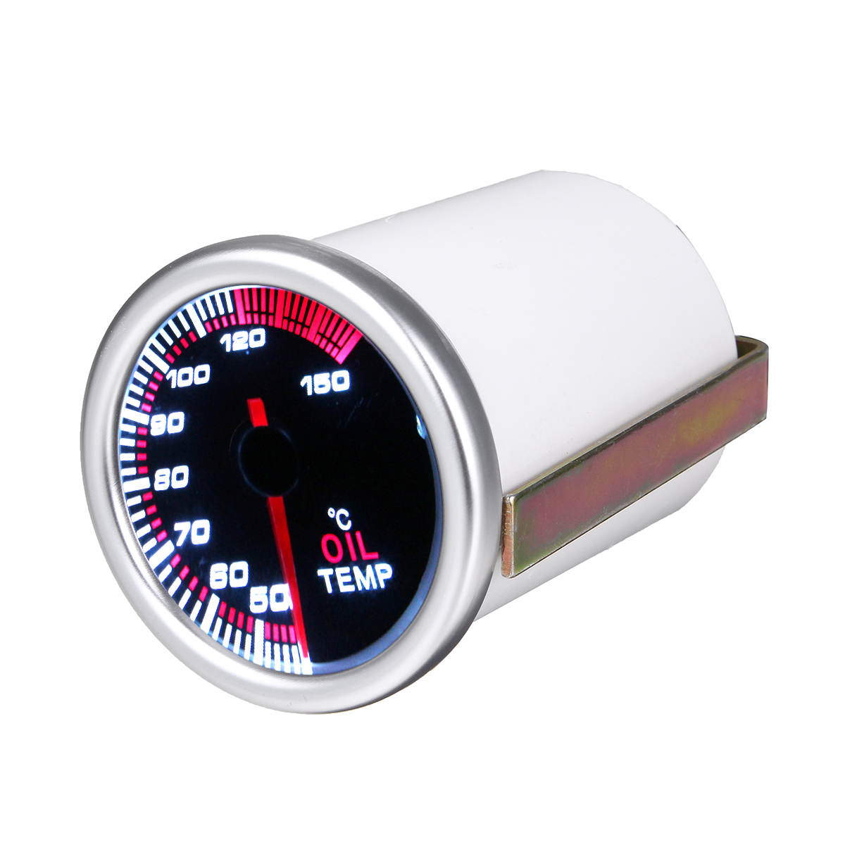 52mm 2'' Universal Car LED Pointer Oil Temp Fuel Temper