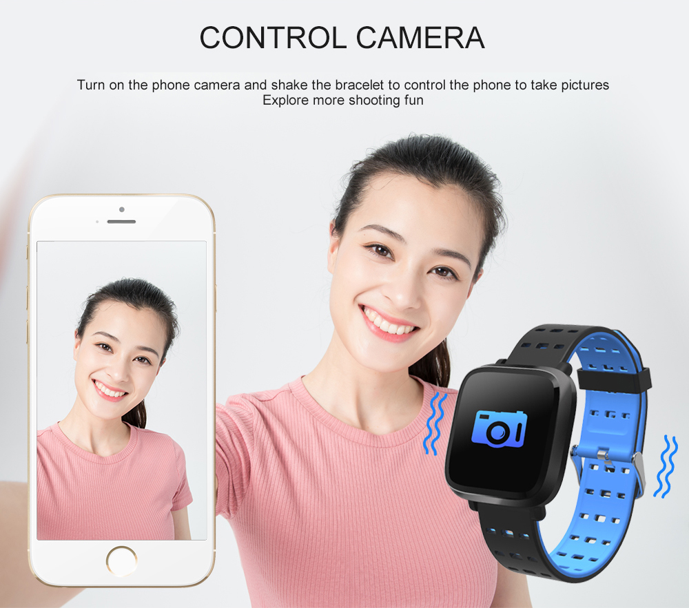 Bakeey I11 Pure Color Smart Watch Long Standby Heart Rate Monitor Multi Sport Mode Watch