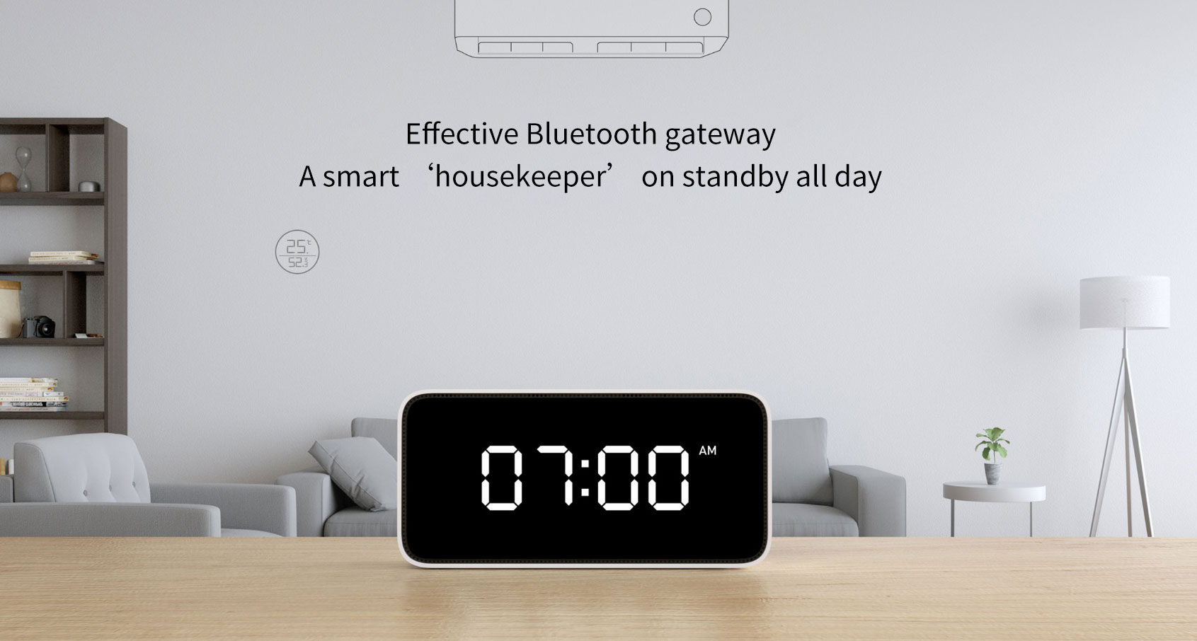 Xiaoai Smart Voice APP Control Weather Broadcast Alarm Clock Xiaomi AI Speaker from Xiaomi Youpin