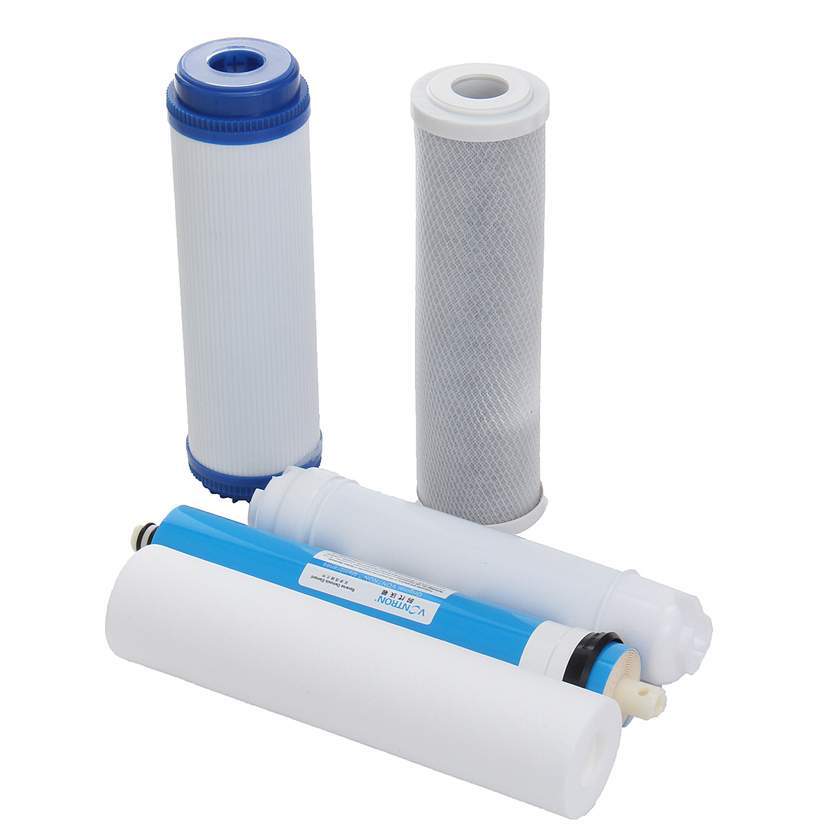 5 Stage Reverse Osmosis FULL Replacement Water Filter Kit with 50 GPD Membrane Home Applicance Part