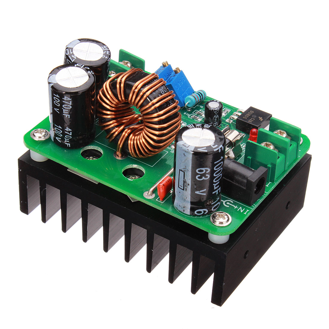 600W DC-DC Boost Converter Step Up Module Mobile Power Supply In 10-60V Out 12-80V
