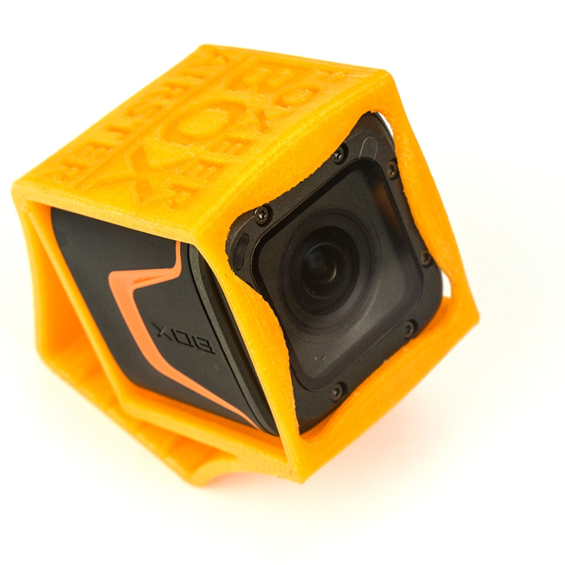 Mini Camera Mount TPU PLA Protective Case 3D Printed for Foxeer Box 4K GoPro Session FPV Camera