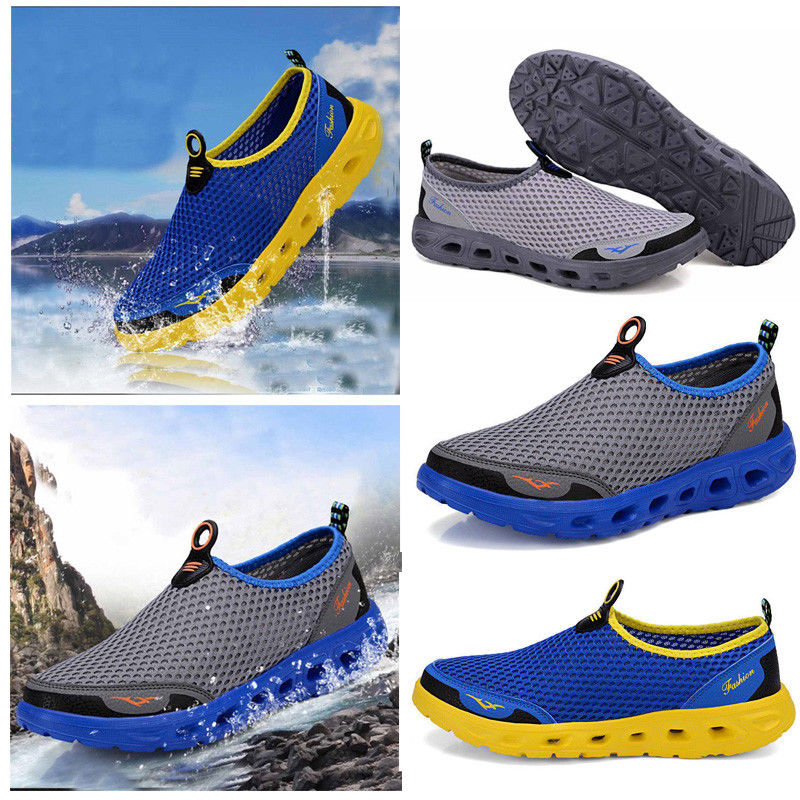S-57227 Casual Outdoor Beach Aqua Comfy Cozy Flats Sports Athletic Shoes Climbing Shoes