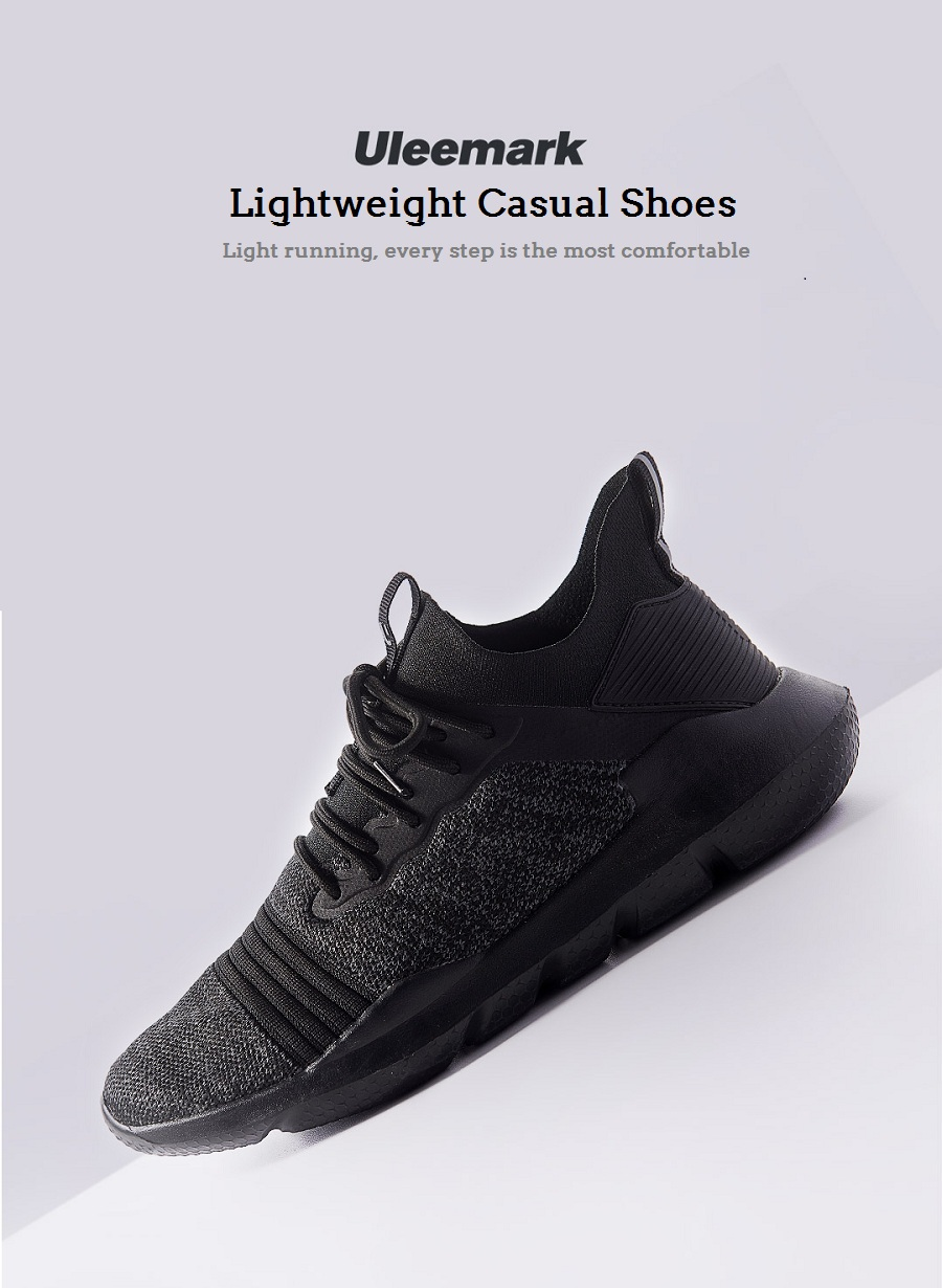 XIAOMI Uleemark Sneakers Ultralight Breathable Sports Running Shoes Comfortable Soft Casual Shoes
