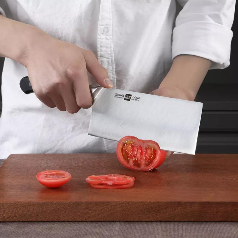 HUOHOU Кухонный нож из нержавеющей стали Нож для шеф-повара Sharp Slicer Blade Slicing Utility Knife Инструмент от Xiaomi Youpin