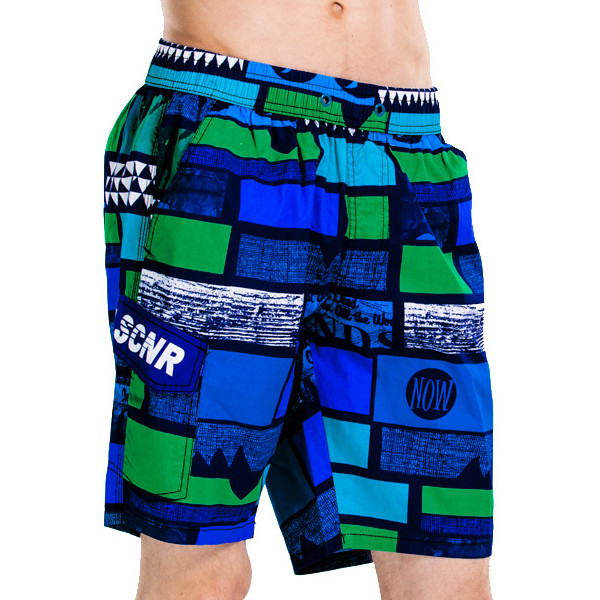 Summer Mens Casual Beach Shorts Quick Drying Five Shorts Loose Plus Size Shorts
