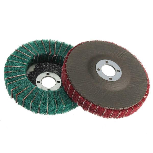 100mm 120/240 Grit Nylon Fiber Wheel Abrasive Polishing Buffing Disc Polishing Wheel