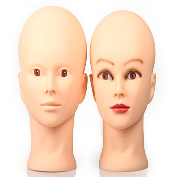 Mannequin Training Head Makeup Face Practice Hat Glasses Display Model