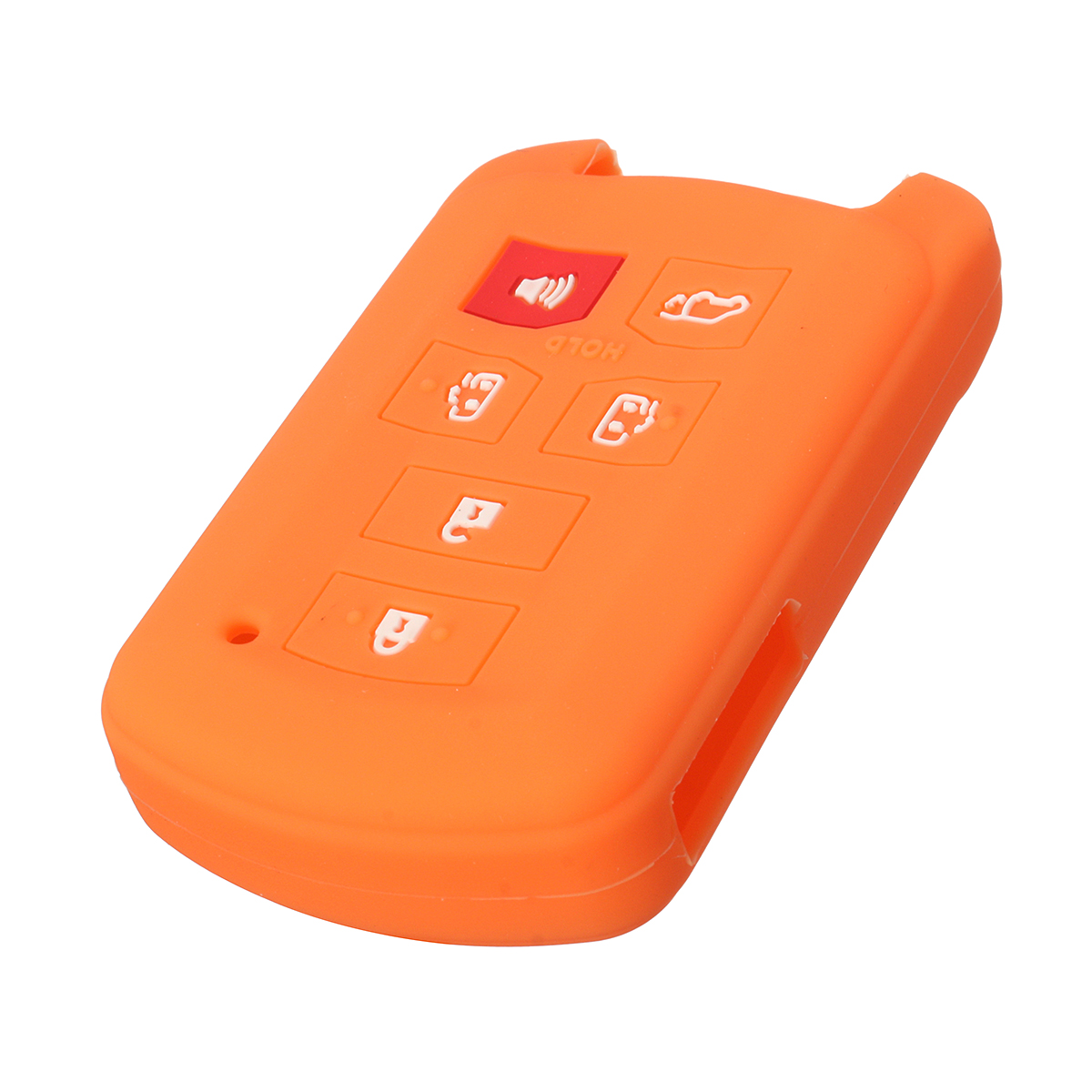 6 Buttons Silicone Car Key Case Cover For Toyota Sienna Remote Smart Key HYQ14ADR