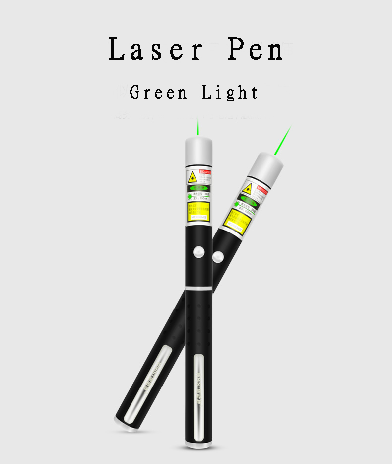 H7 Laser Light Pen For Projector Highlighted green Indicates Long-lasting LCD Screen Instructions