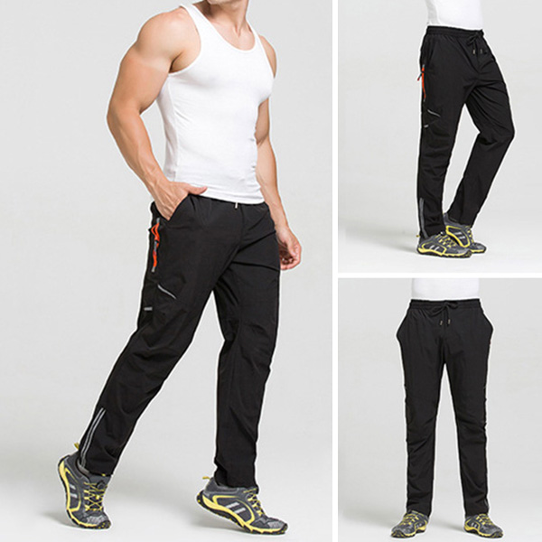 Men's Casual Sport Quick Drying Pants Outdoor Elastic Climbing Pants