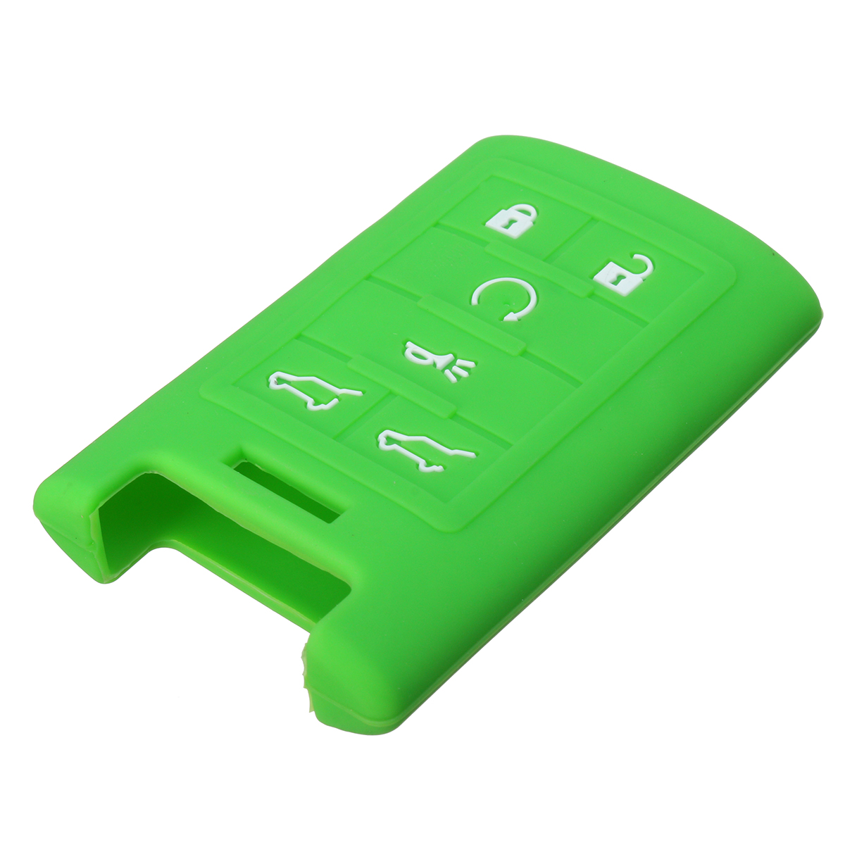 6 Buttons Silicone Remote Key Case Shell Cover Holder For Cadillac CTS Escalade