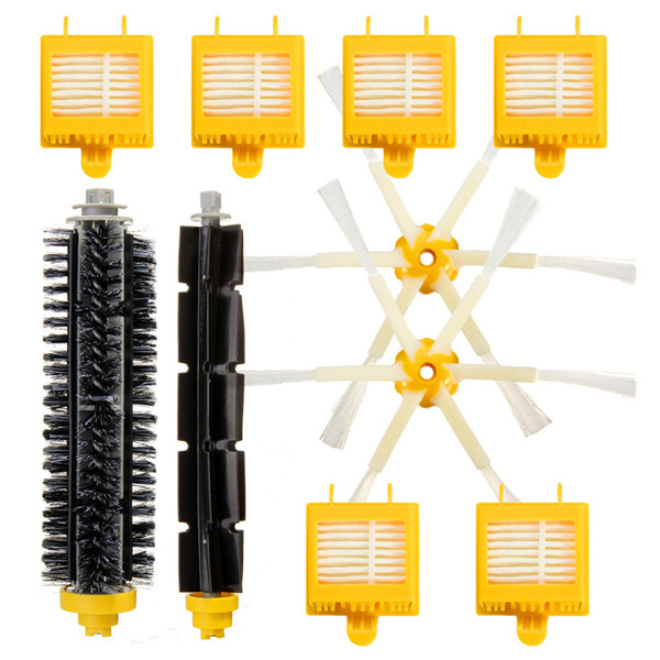10Pcs Replacement Vacuum Part For iRobot Roomba 700 Series 760 770 780 790 Filters Brush Pack Kit