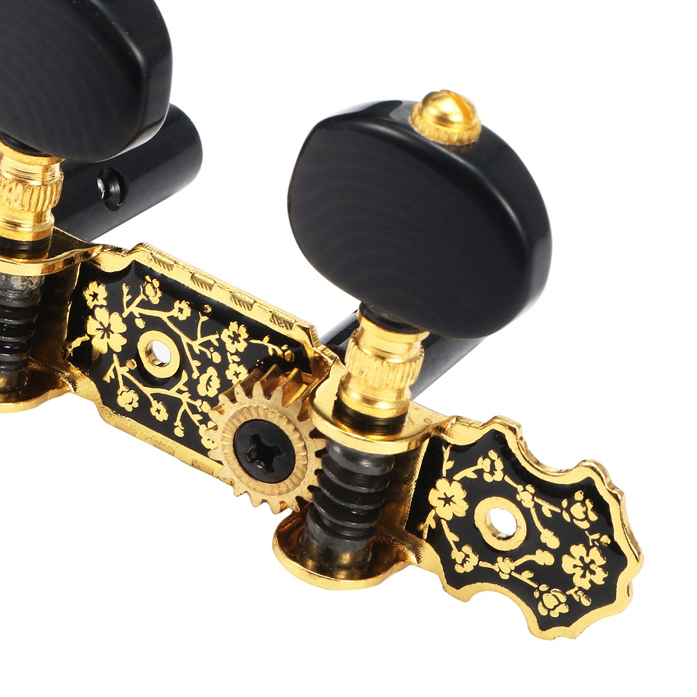 2Pcs Acoustic Classical Guitar Tuning Pegs Machine Heads Tuners Guitar Parts